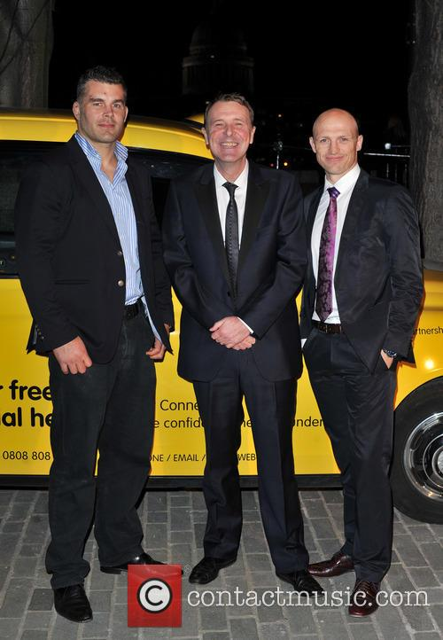 Matt Dawson, Phil Tufnell and Nick Easter 1