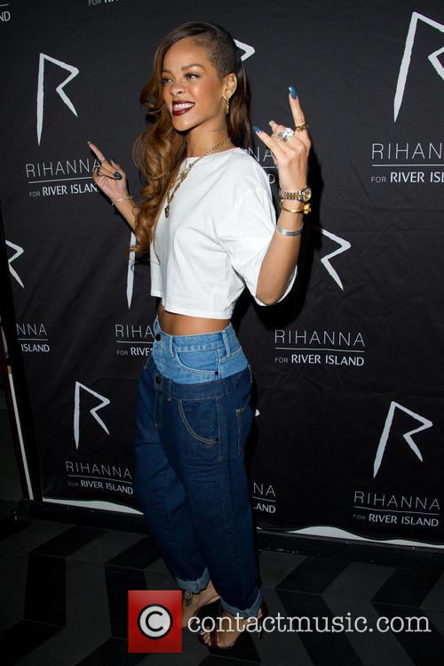 Rihanna at the Rihanna for River Island After Party