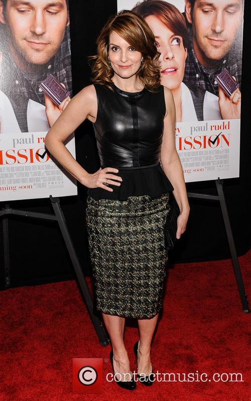 Tina Fey, Admission Premiere