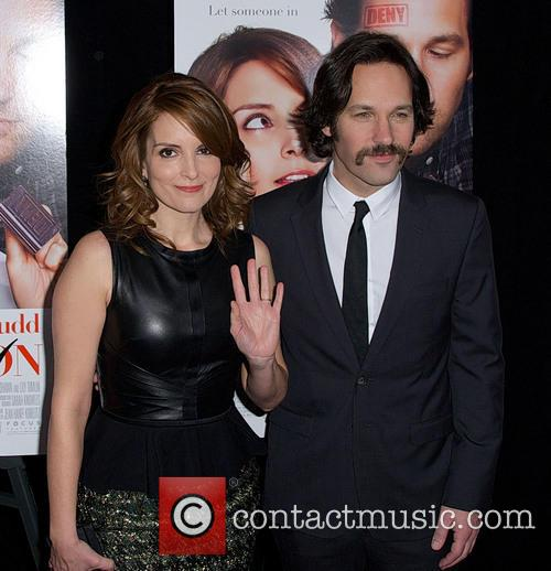 Tina Fey and Paul Rudd 9