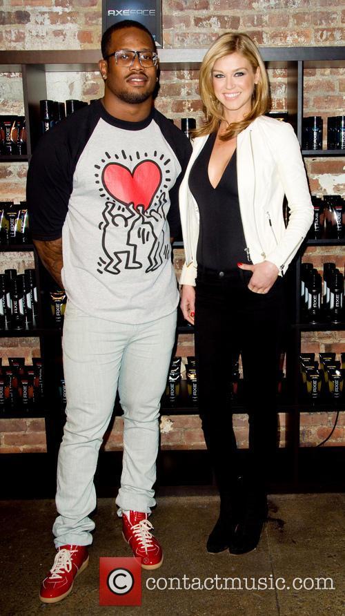 Adrianne Palicki and Von Miller 10