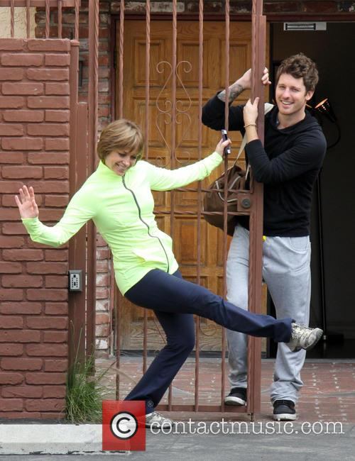 Dancing With The Stars, Dorothy Hamill and Gleb Savchenko 5