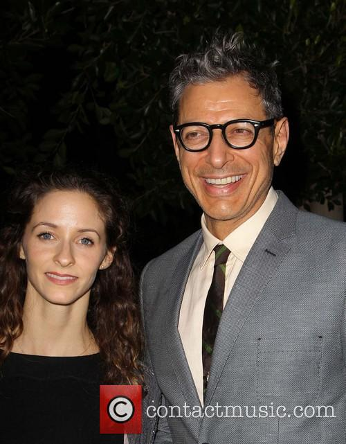 Emilie Livingston and Jeff Goldblum 2