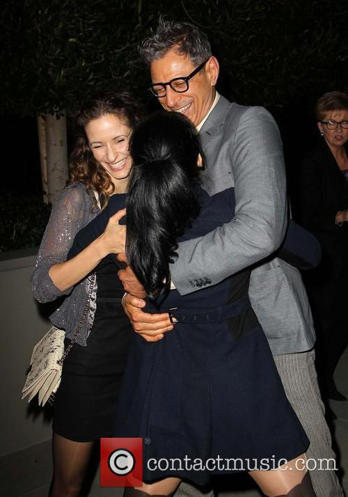Sarah Silverman, Emilie Livingston and Jeff Goldblum 2