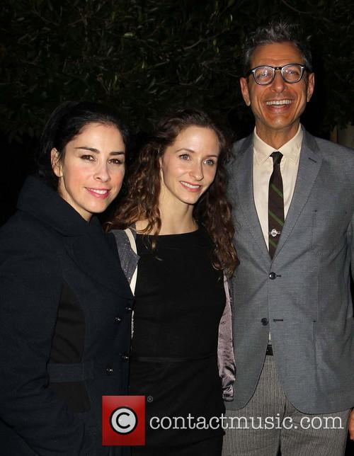 Sarah Silverman, Emilie Livingston and Jeff Goldblum 4