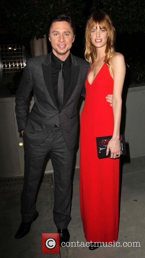 Zach Braff and Taylor Bagley 2