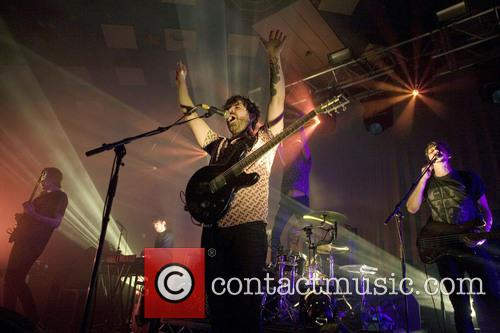The Foals performing live in concert at Barrowlands