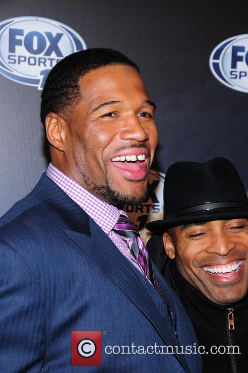 Michael Strahan and Tiki Barber 3