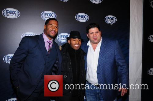 Michael Strahan, Tiki Barber and Tony Siragusa 2