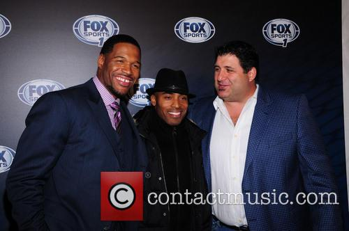 Michael Strahan, Tiki Barber and Tony Siragusa 1