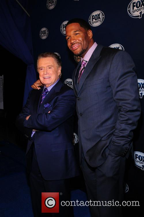 Regis Philbin and Michael Strahan 2