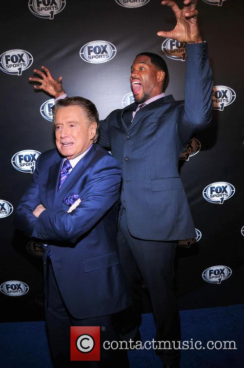 Regis Philbin and Michael Strahan 4