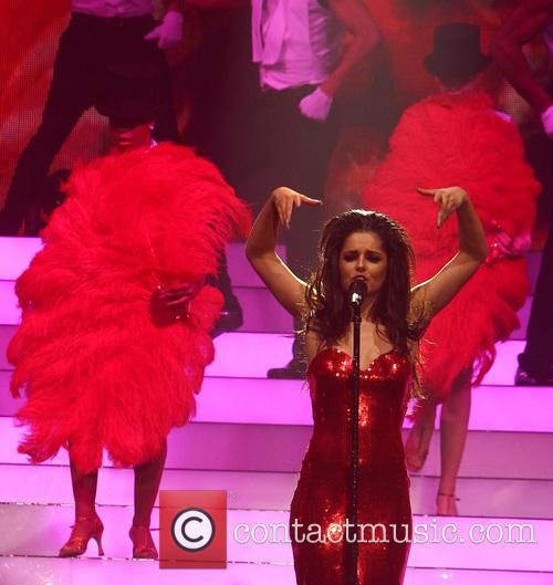 cheryl cole girls aloud performing in manchester 3540622