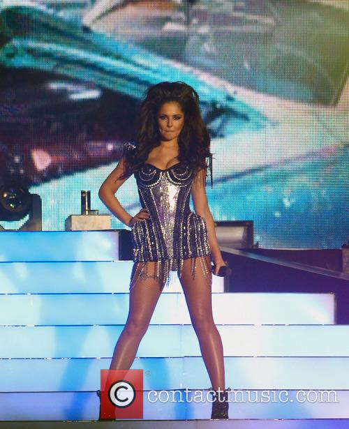 cheryl cole girls aloud performing in manchester 3540627