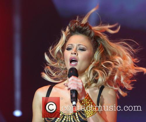 Girls Aloud Performing In Manchester