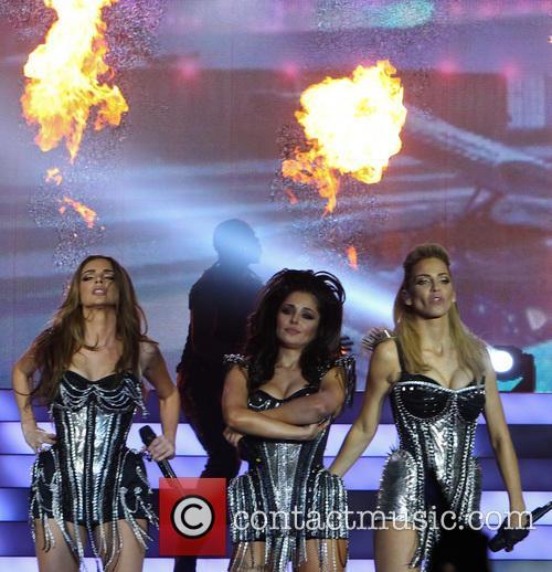Nadine Coyle, Cheryl Cole and Sarah Harding 2