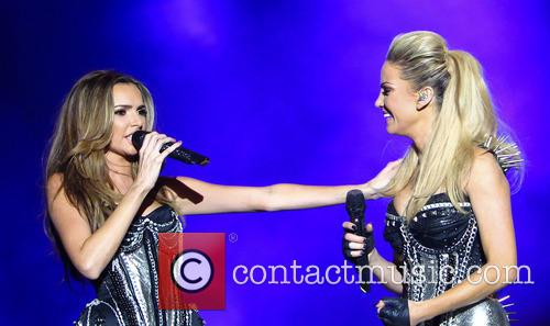 Nadine Coyle and Sarah Harding 8