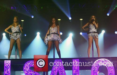 Sarah Harding, Cheryl Cole and Nadine Coyle 2