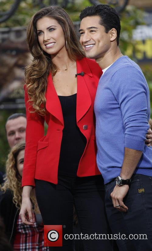 Katherine Webb and Mario Lopez 2