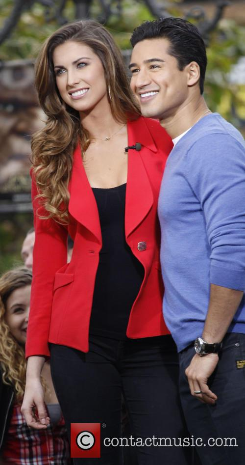 Katherine Webb and Mario Lopez 3