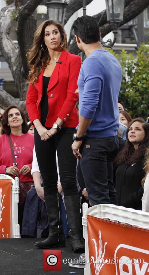 Katherine Webb and Mario Lopez 4