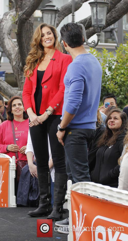 Katherine Webb and Mario Lopez 5