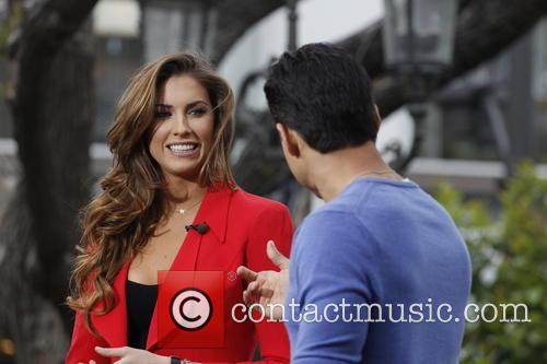 Katherine Webb and Mario Lopez 6