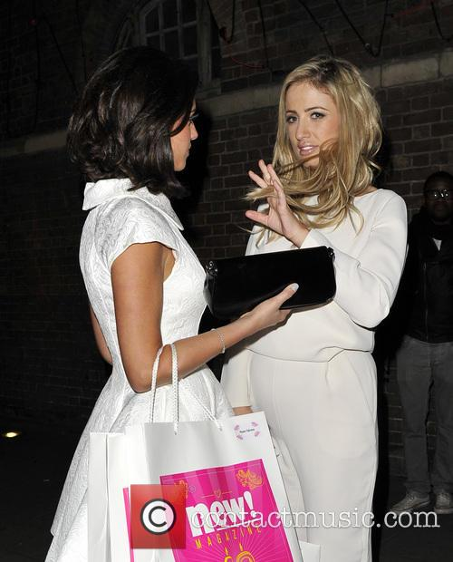 Chantelle Houghton and Lucy Mecklenburgh 8