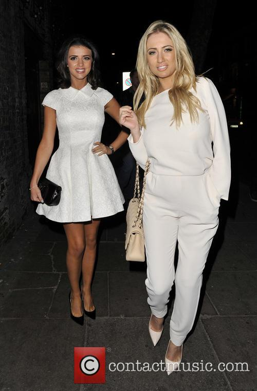 Chantelle Houghton and Lucy Mecklenburgh 9