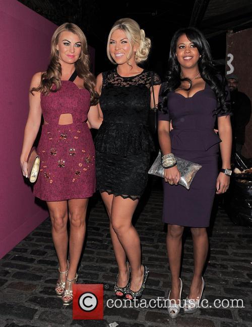 Billi Mucklow, Frankie Essex and Danielle Dempsey 1