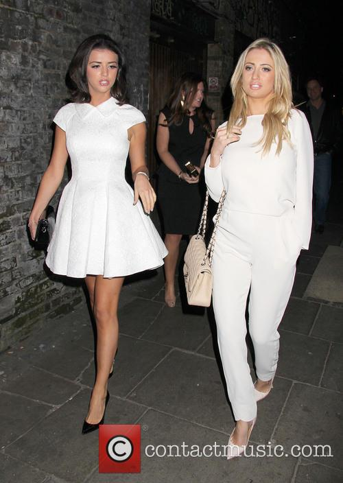 Chantelle Houghton and Lucy Mecklenburgh 2