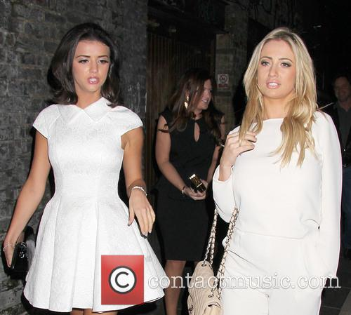 Chantelle Houghton and Lucy Mecklenburgh 1