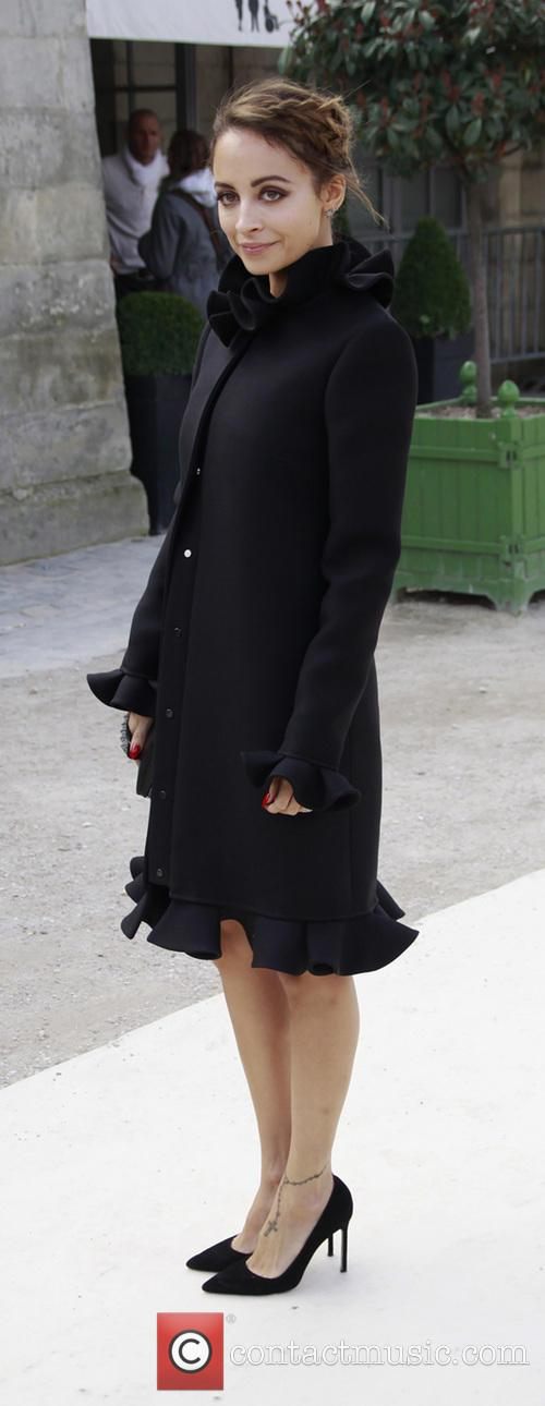 Nicole Richie, Paris Fashion Week