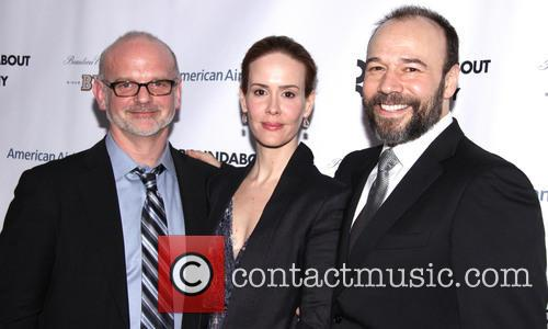 Michael Wilson, Sarah Paulson and Danny Burstein 2