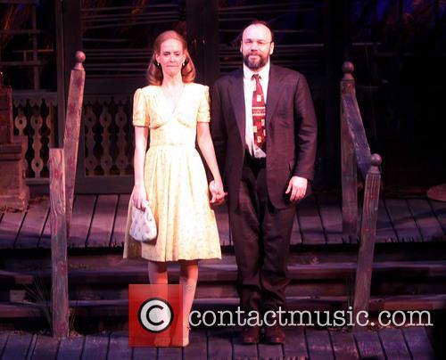 Sarah Paulson and Danny Burstein 5