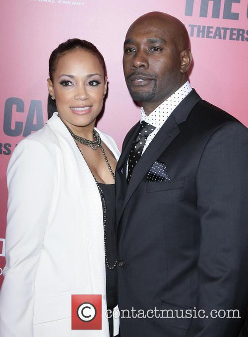 morris chestnut los angeles premiere of the 3541162