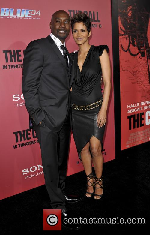 Morris Chestnut and Halle Berry