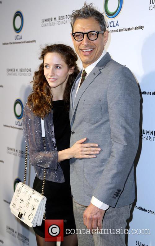 Jeff Goldblum and Emilie Livingston 3