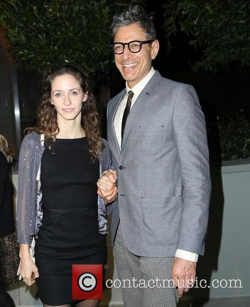 Jeff Goldblum and Emilie Livingston 2