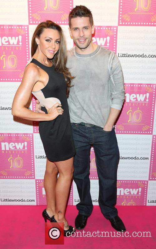 Michelle Heaton and Husband Hugh Hanley 10