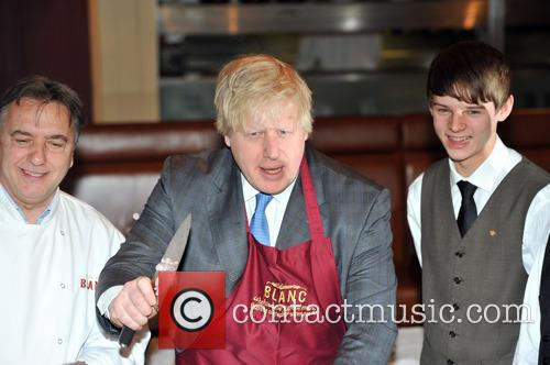 Boris Johnson and Raymond Blanc 6