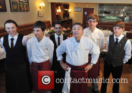 Photocall held at Brasserie Blanc