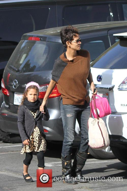 Halle Berry and Nahla Aubry 6