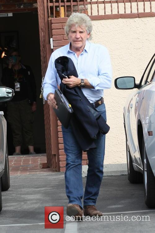 Ken Todd exits the rehearsal studio