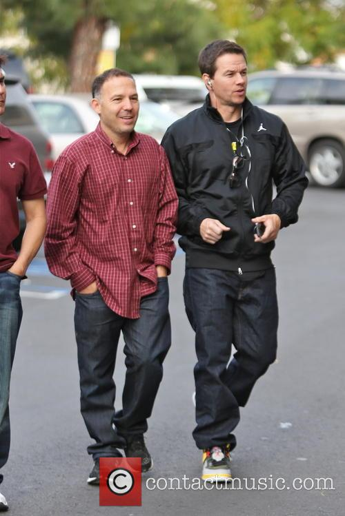 Mark Wahlberg seen at Ralph's supermarket