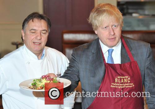Boris Johnson and Chef Raymond Blanc 2