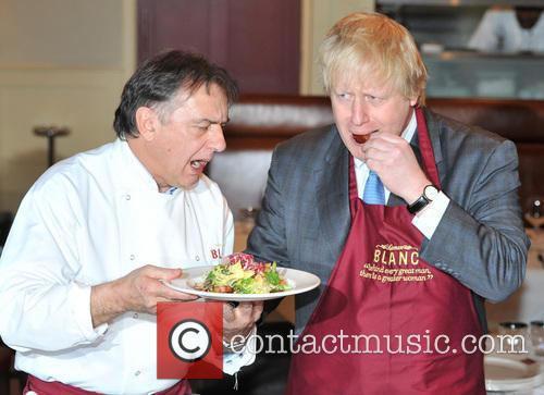 Boris Johnson and Chef Raymond Blanc 3