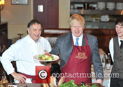 Boris Johnson and Chef Raymond Blanc 6