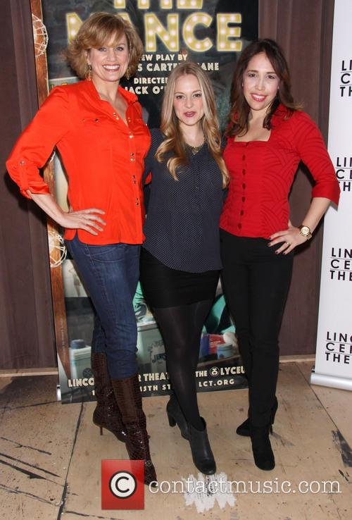 Cady Huffman, Jenni Barber and Andrea Burns 1