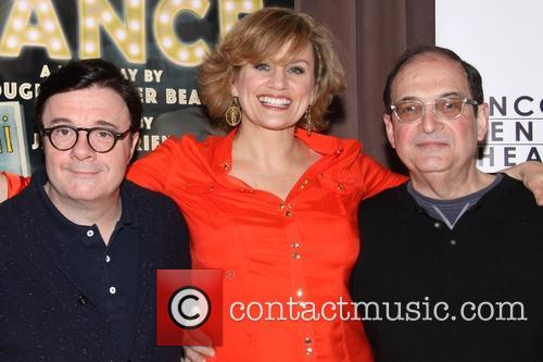Nathan Lane, Cady Huffman and Lewis J. Stadlen 7